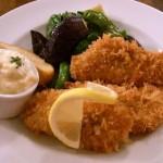 白身魚のフライ〜自家製タルタルソース〜¥1500